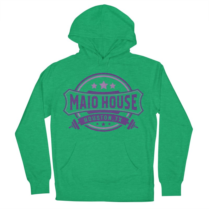 Maio House (The Best Thing) (Purple Inks) Women's French Terry Pullover Hoody by M A R I A N A    Z A P A T A