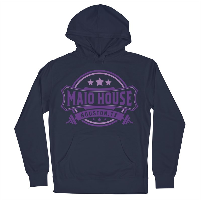 Maio House (The Best Thing) (Purple Inks) Men's French Terry Pullover Hoody by M A R I A N A    Z A P A T A