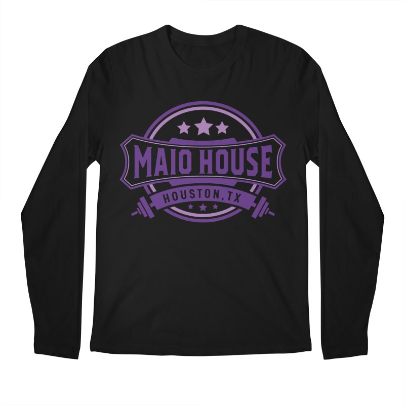 Maio House (The Best Thing) (Purple Inks) Men's Regular Longsleeve T-Shirt by M A R I A N A    Z A P A T A