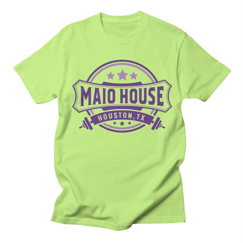 Maio House (The Best Thing) (Purple Inks) Women's Regular Unisex T-Shirt by M A R I A N A    Z A P A T A