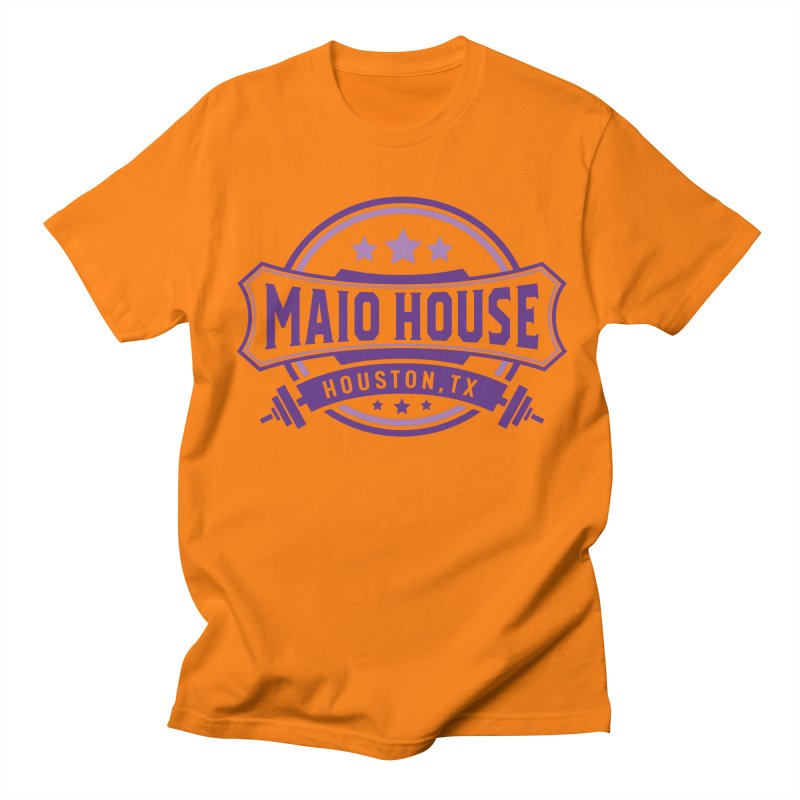 Maio House (The Best Thing) (Purple Inks) Men's Regular T-Shirt by M A R I A N A    Z A P A T A