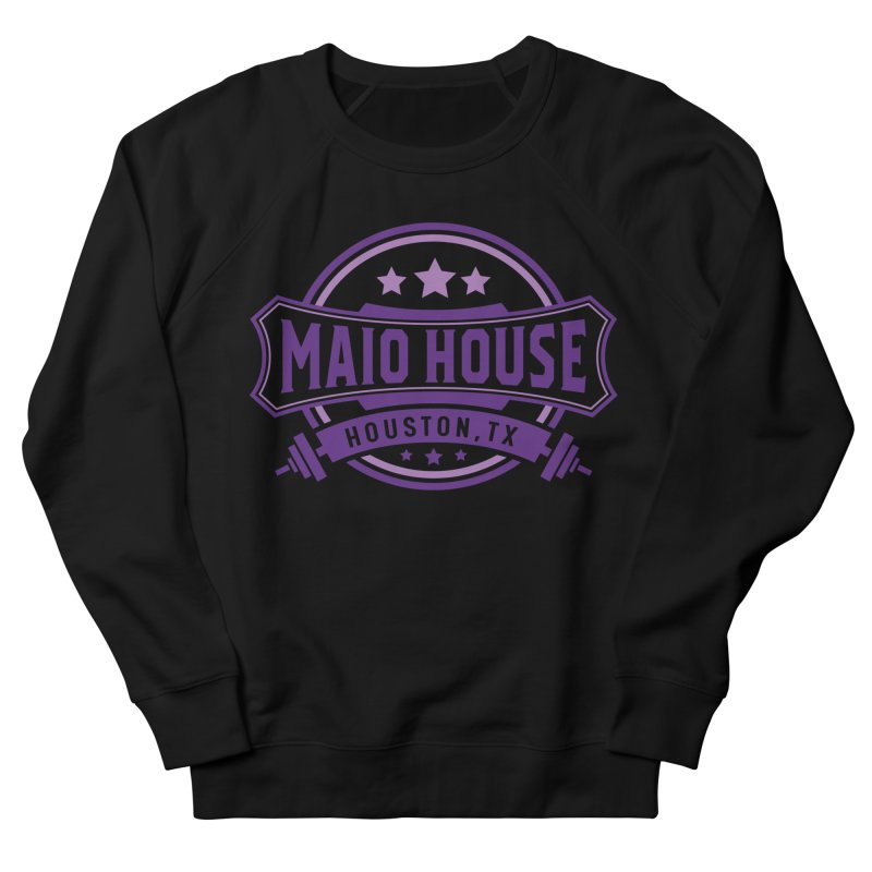 Maio House (The Best Thing) (Purple Inks) Women's French Terry Sweatshirt by M A R I A N A    Z A P A T A