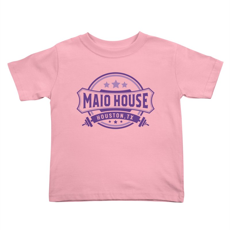 Maio House (The Best Thing) (Purple Inks) Kids Toddler T-Shirt by M A R I A N A    Z A P A T A