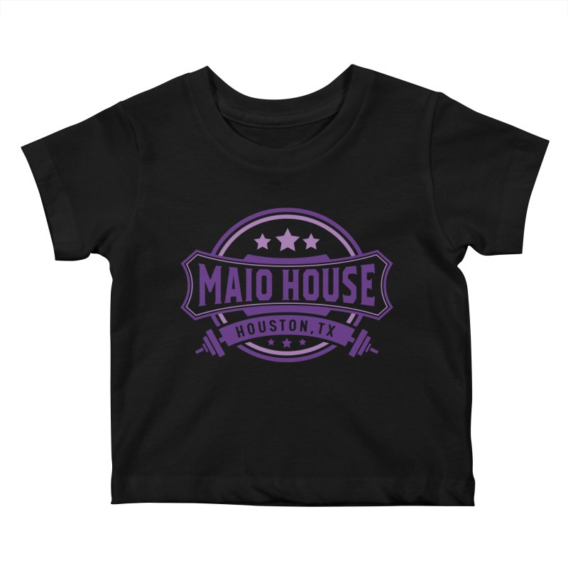Maio House (The Best Thing) (Purple Inks) Kids Baby T-Shirt by M A R I A N A    Z A P A T A