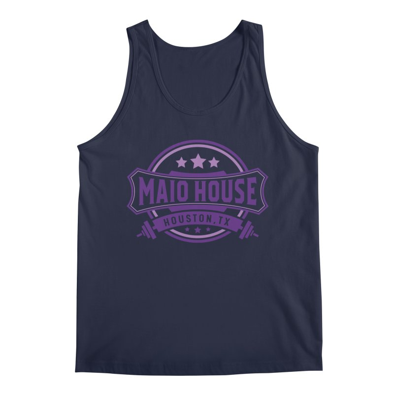 Maio House (The Best Thing) (Purple Inks) Men's Regular Tank by M A R I A N A    Z A P A T A