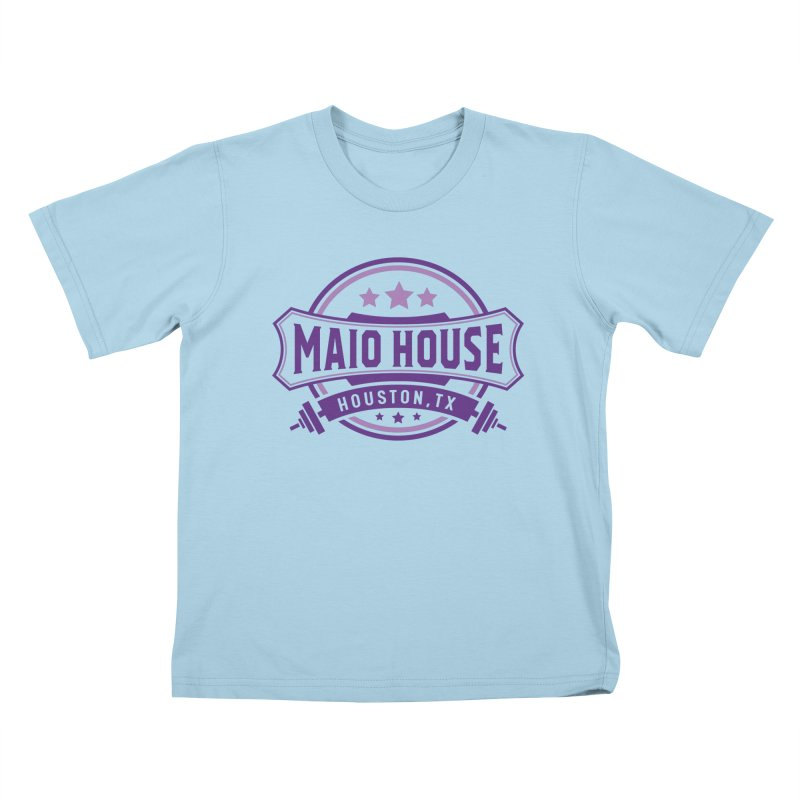 Maio House (The Best Thing) (Purple Inks) Kids T-Shirt by M A R I A N A    Z A P A T A