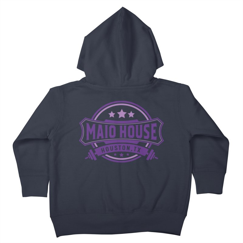 Maio House (The Best Thing) (Purple Inks) Kids Toddler Zip-Up Hoody by M A R I A N A    Z A P A T A