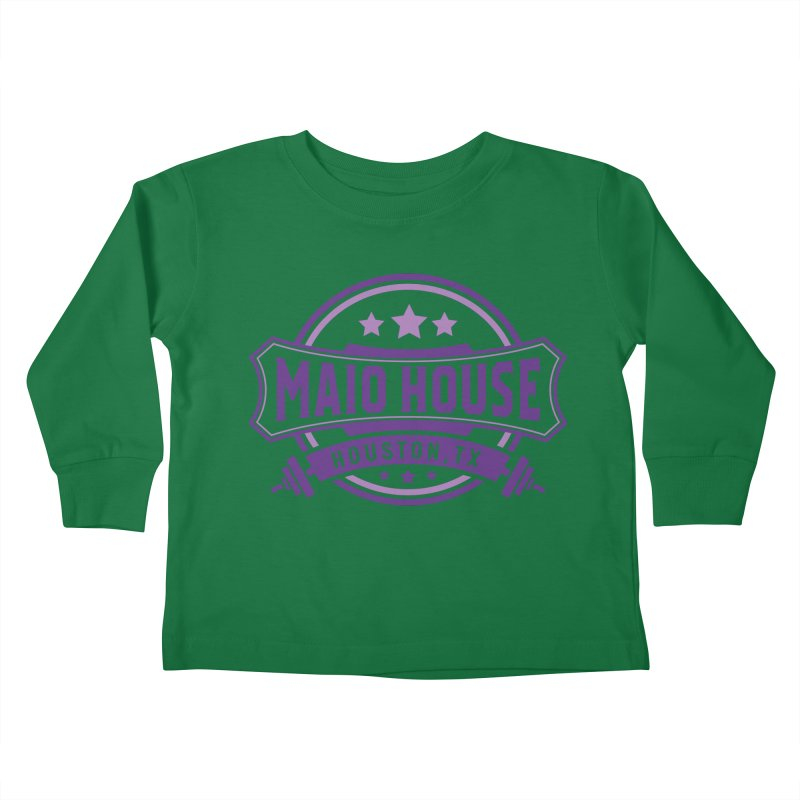 Maio House (The Best Thing) (Purple Inks) Kids Toddler Longsleeve T-Shirt by M A R I A N A    Z A P A T A