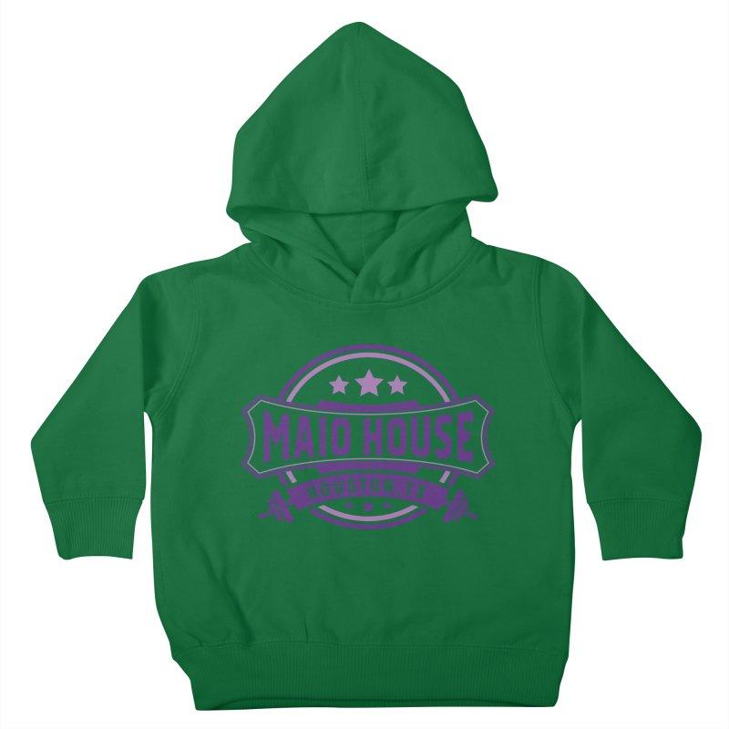 Maio House (The Best Thing) (Purple Inks) Kids Toddler Pullover Hoody by M A R I A N A    Z A P A T A