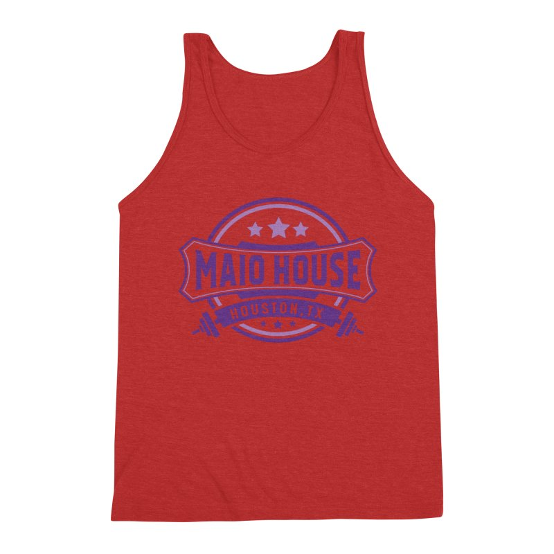 Maio House (The Best Thing) (Purple Inks) Men's Triblend Tank by M A R I A N A    Z A P A T A