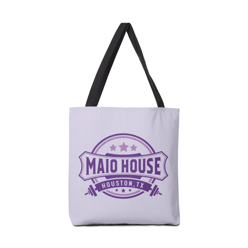 Maio House (The Best Thing) (Purple Inks) Accessories Tote Bag Bag by M A R I A N A    Z A P A T A