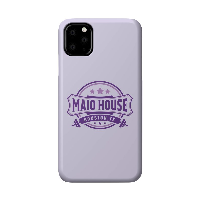 Maio House (The Best Thing) (Purple Inks) Accessories Phone Case by M A R I A N A    Z A P A T A