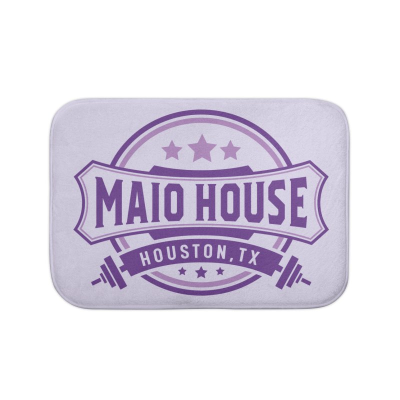 Maio House (The Best Thing) (Purple Inks) Home Bath Mat by M A R I A N A    Z A P A T A