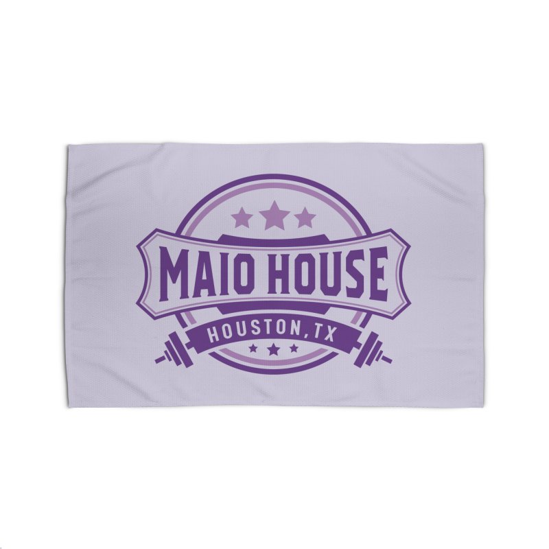 Maio House (The Best Thing) (Purple Inks) Home Rug by M A R I A N A    Z A P A T A