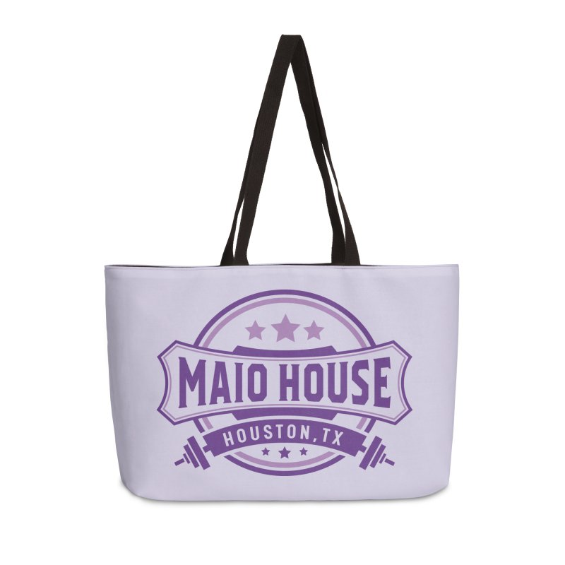 Maio House (The Best Thing) (Purple Inks) Accessories Weekender Bag Bag by M A R I A N A    Z A P A T A