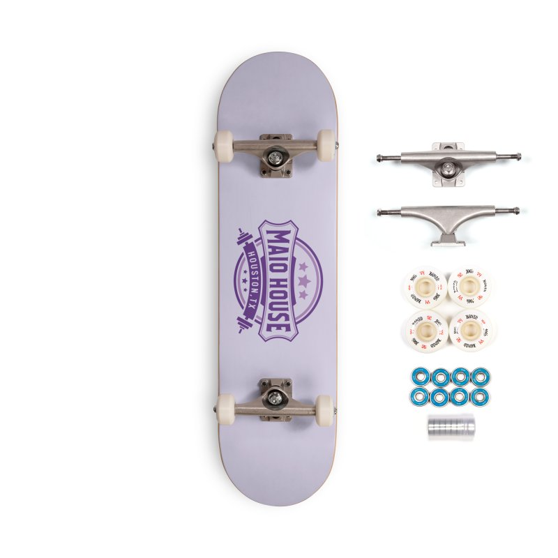 Maio House (The Best Thing) (Purple Inks) Accessories Complete - Premium Skateboard by M A R I A N A    Z A P A T A