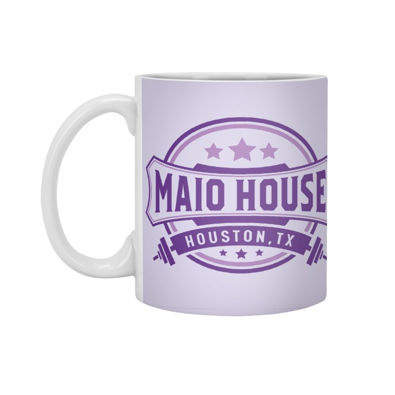 Maio House (The Best Thing) (Purple Inks) Accessories Standard Mug by M A R I A N A    Z A P A T A