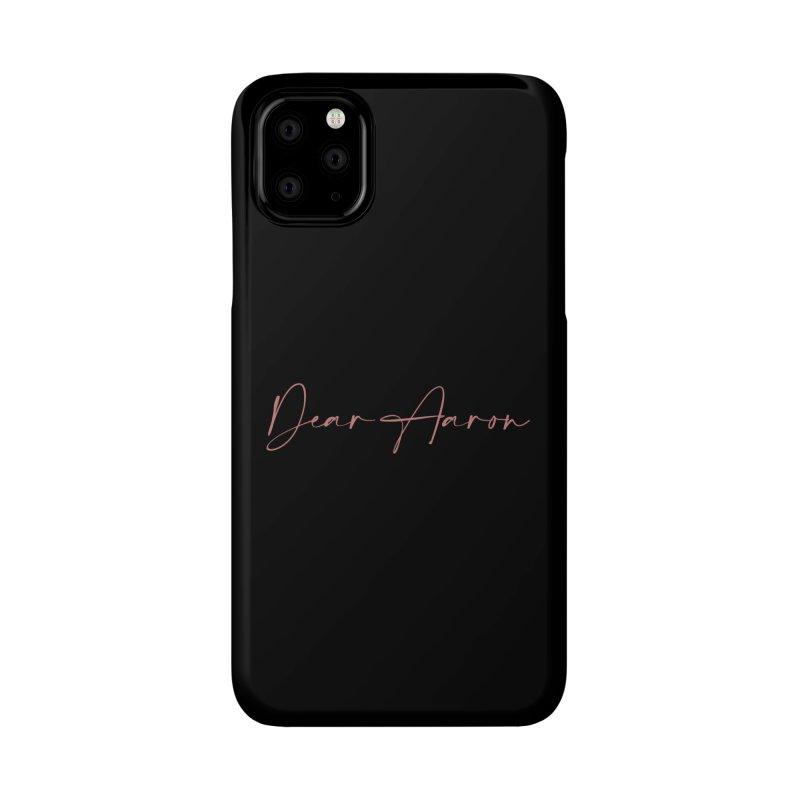 Dear Aaron (Light Color Ink) Accessories Phone Case by M A R I A N A    Z A P A T A