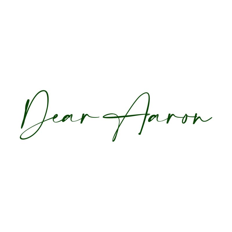 Dear Aaron (Dark Color Ink) Accessories Sticker by M A R I A N A    Z A P A T A