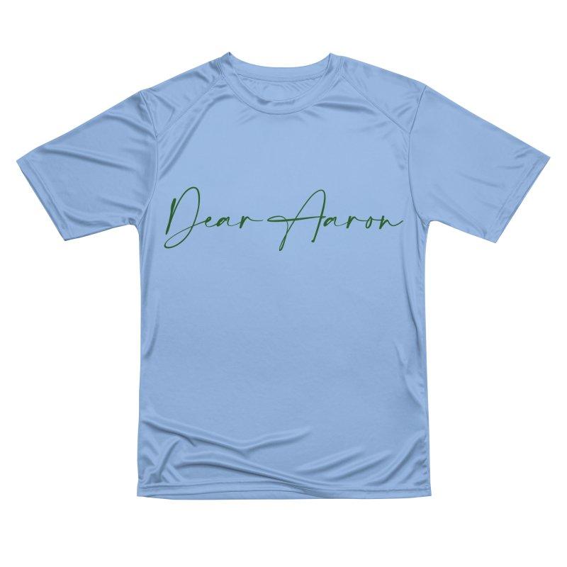 Dear Aaron (Dark Color Ink) Men's Performance T-Shirt by M A R I A N A    Z A P A T A