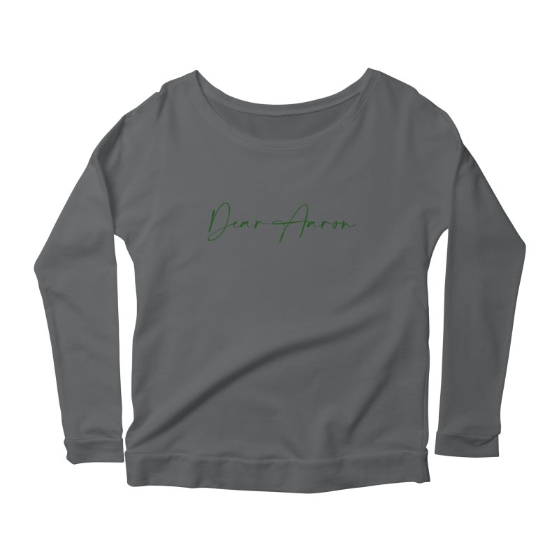 Dear Aaron (Dark Color Ink) Women's Longsleeve T-Shirt by M A R I A N A    Z A P A T A