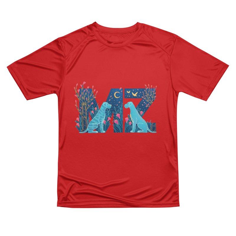 MZ Logo Women's Performance Unisex T-Shirt by M A R I A N A    Z A P A T A