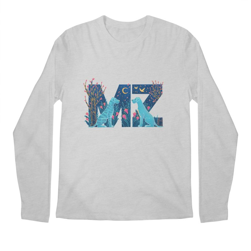 MZ Logo Men's Regular Longsleeve T-Shirt by M A R I A N A    Z A P A T A