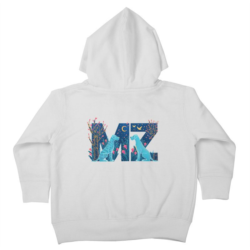 MZ Logo Kids Toddler Zip-Up Hoody by M A R I A N A    Z A P A T A
