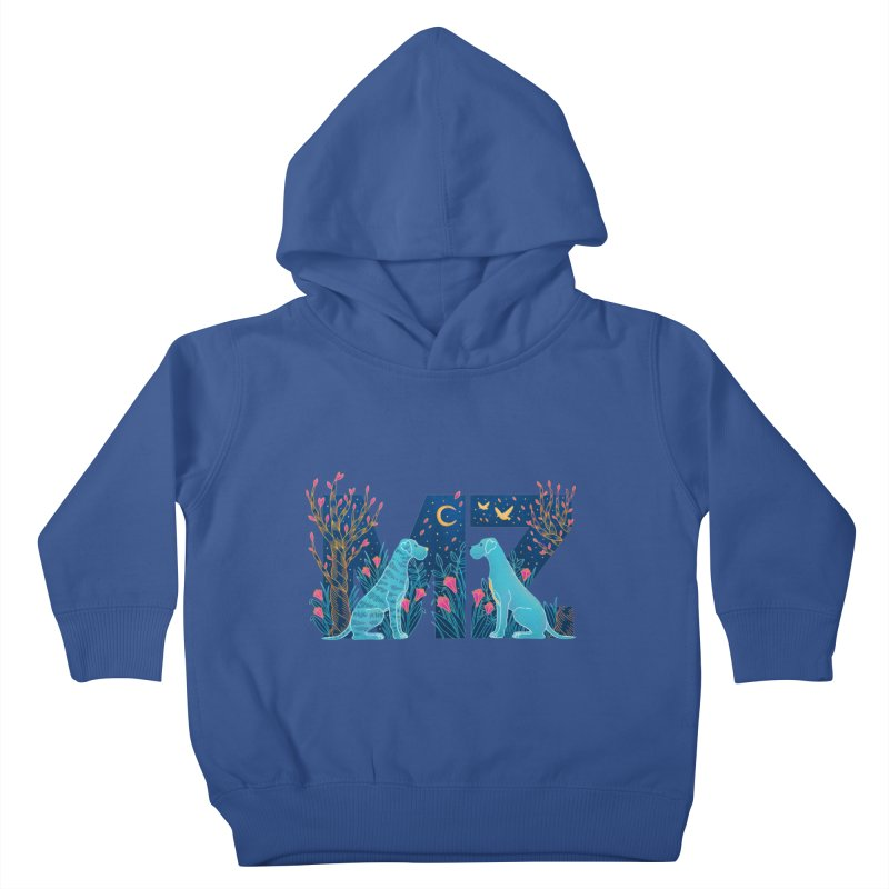 MZ Logo Kids Toddler Pullover Hoody by M A R I A N A    Z A P A T A