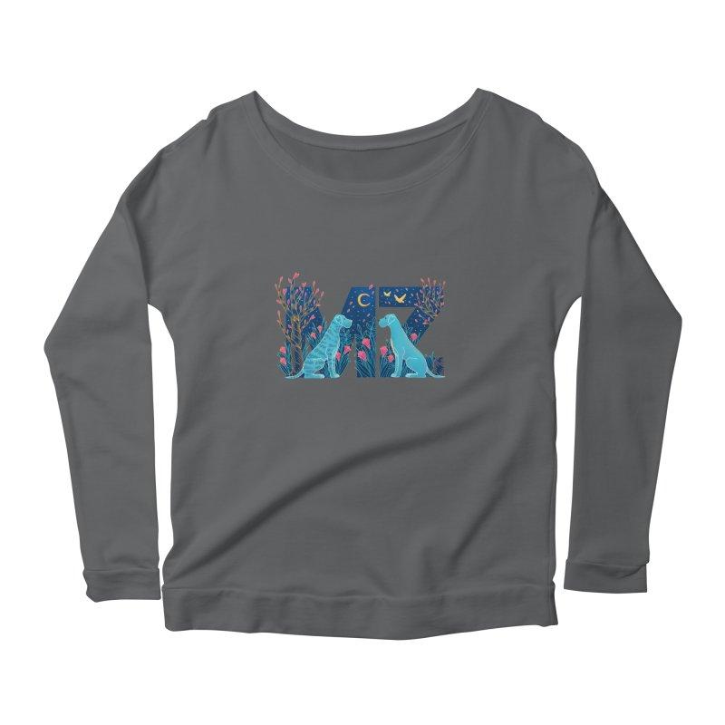 MZ Logo Women's Longsleeve T-Shirt by M A R I A N A    Z A P A T A