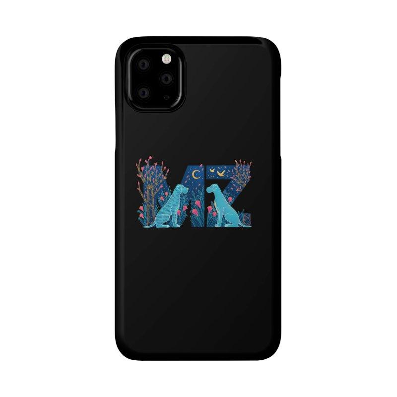 MZ Logo Accessories Phone Case by M A R I A N A    Z A P A T A
