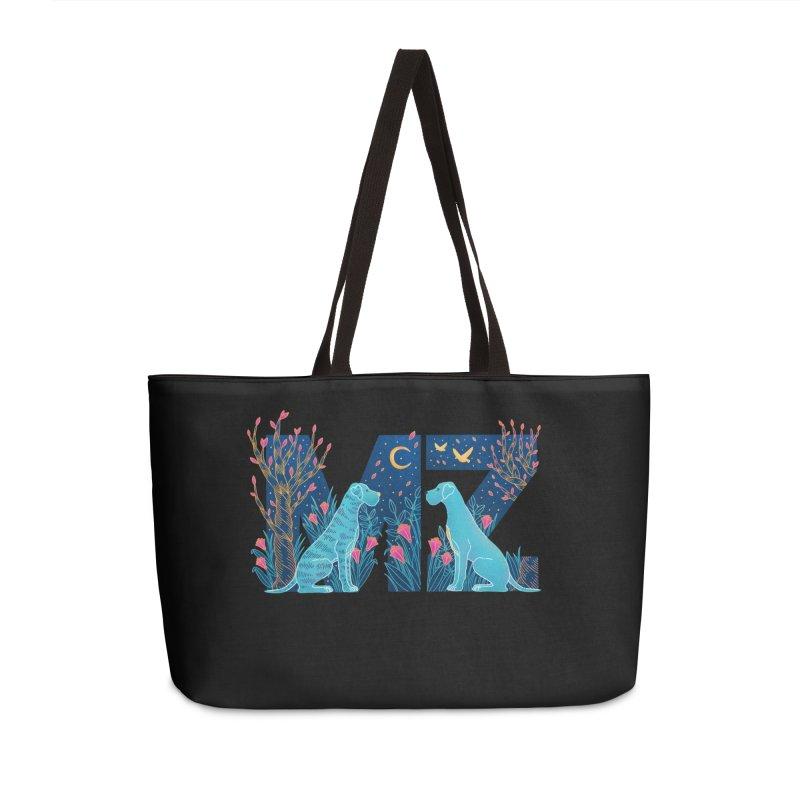 MZ Logo Accessories Weekender Bag Bag by M A R I A N A    Z A P A T A