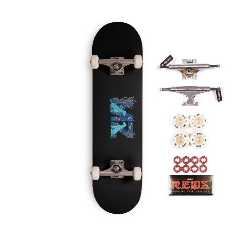 MZ Logo Accessories Complete - Pro Skateboard by M A R I A N A    Z A P A T A
