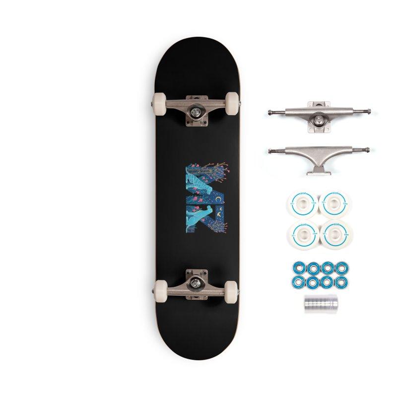 MZ Logo Accessories Complete - Basic Skateboard by M A R I A N A    Z A P A T A