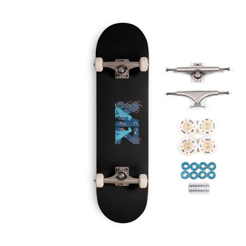 MZ Logo Accessories Complete - Premium Skateboard by M A R I A N A    Z A P A T A