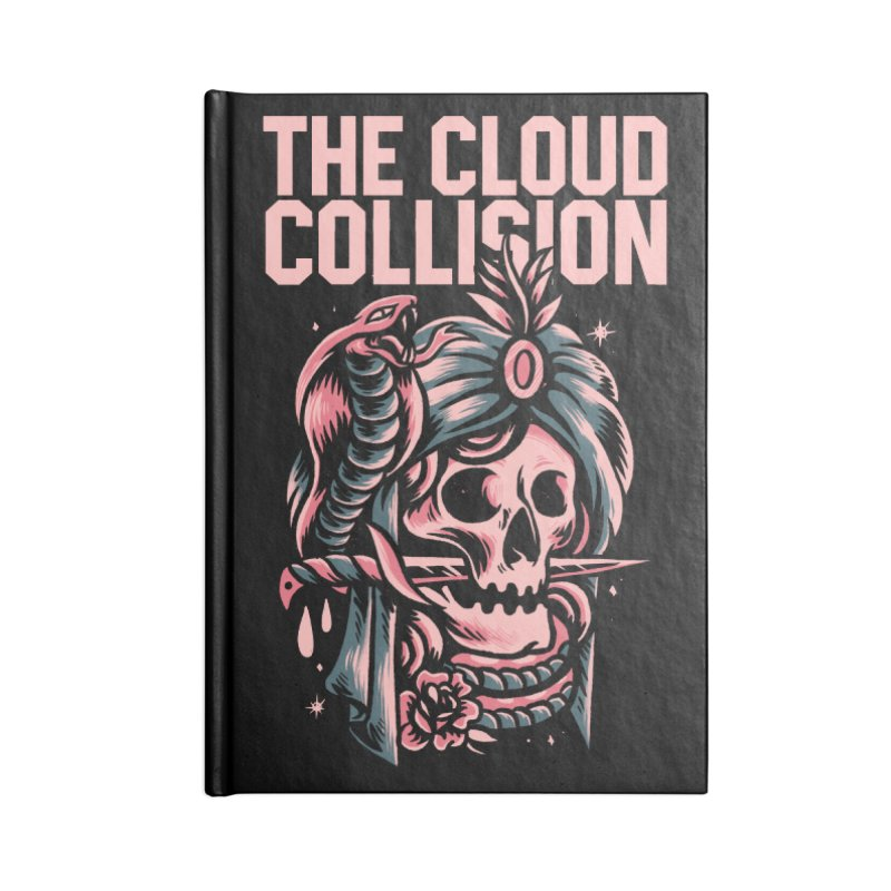 Cloud Collision (Rhythm, Chord & Malykhin) Accessories Notebook by M A R I A N A    Z A P A T A