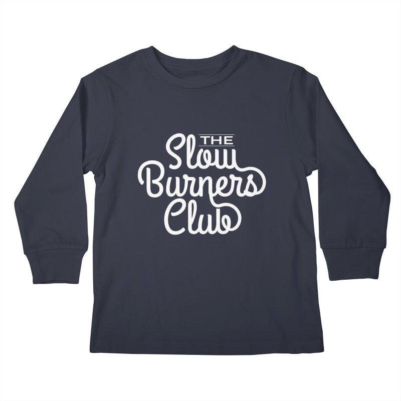 2020 Slow Burners Club Kids Longsleeve T-Shirt by M A R I A N A    Z A P A T A