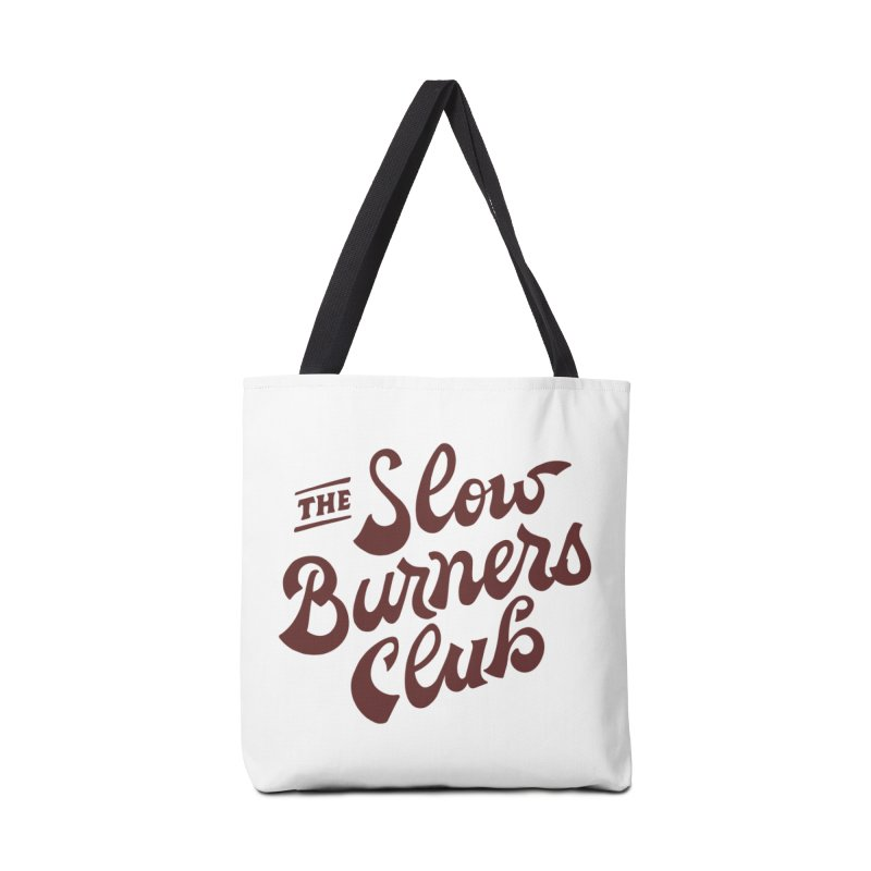 The Slow Burners Club Accessories Tote Bag Bag by M A R I A N A    Z A P A T A