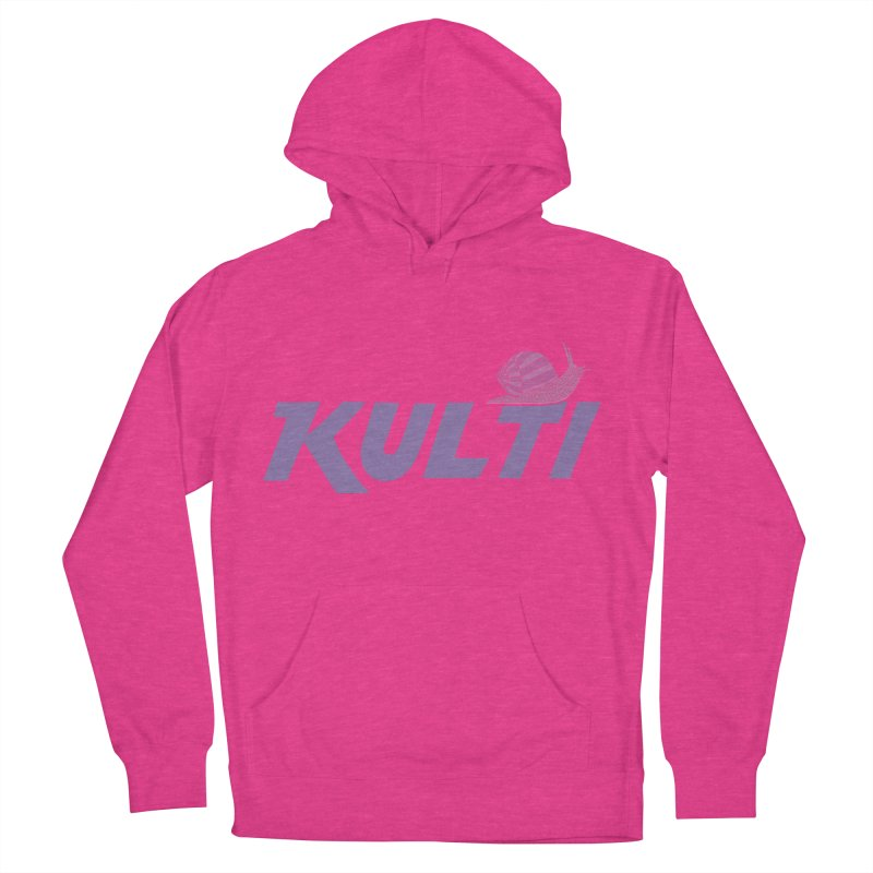 Kulti - Design 1 Women's French Terry Pullover Hoody by M A R I A N A    Z A P A T A