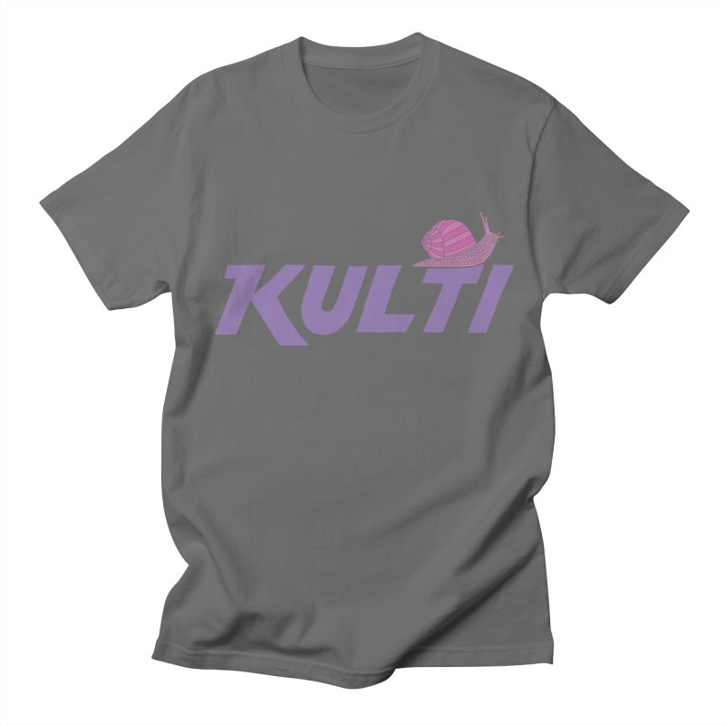 Kulti - Design 1 Men's Regular T-Shirt by M A R I A N A    Z A P A T A