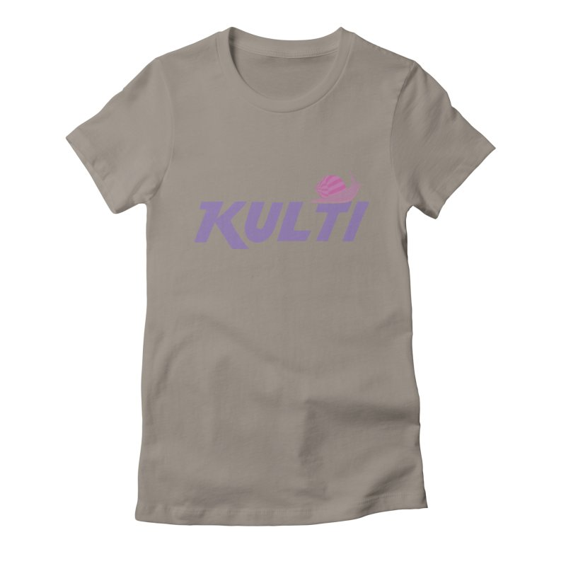 Kulti - Design 1 Women's Fitted T-Shirt by M A R I A N A    Z A P A T A
