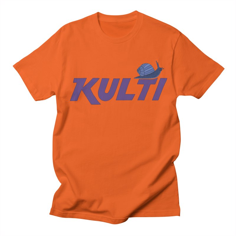 Kulti - Design 2 Men's Regular T-Shirt by M A R I A N A    Z A P A T A