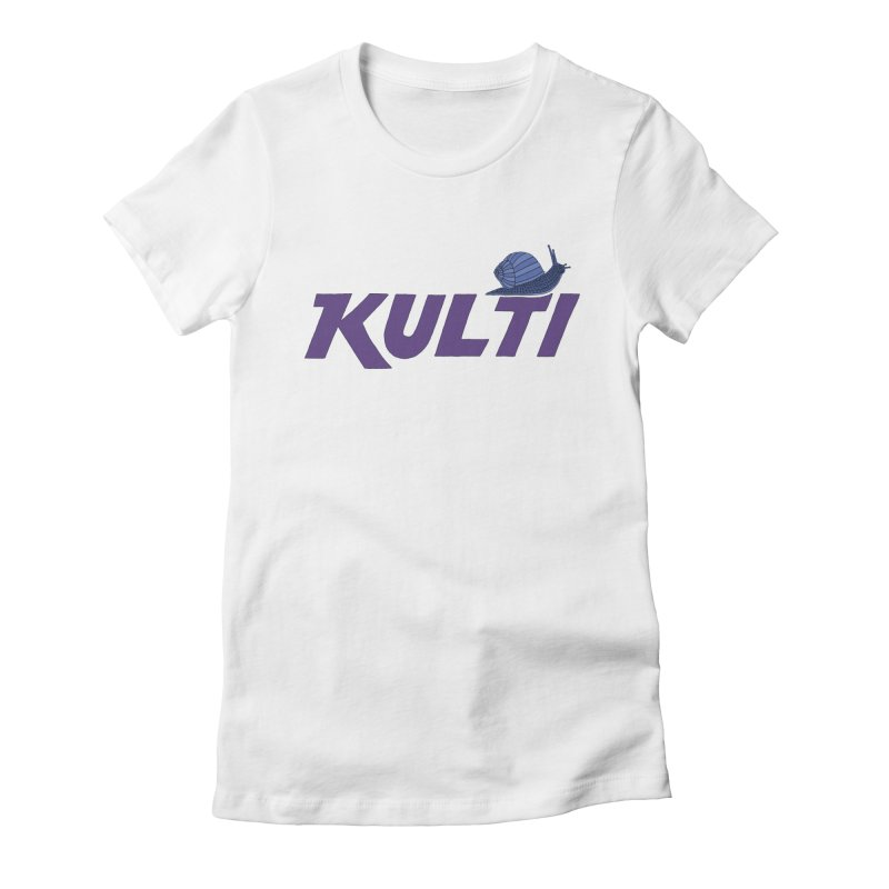 Kulti - Design 2 Women's Fitted T-Shirt by M A R I A N A    Z A P A T A