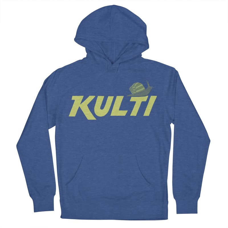 Kulti - Design 3 Women's French Terry Pullover Hoody by M A R I A N A    Z A P A T A