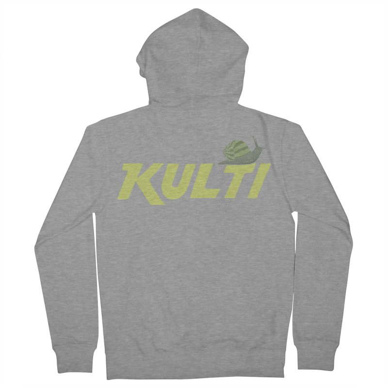 Kulti - Design 3 Men's French Terry Zip-Up Hoody by M A R I A N A    Z A P A T A