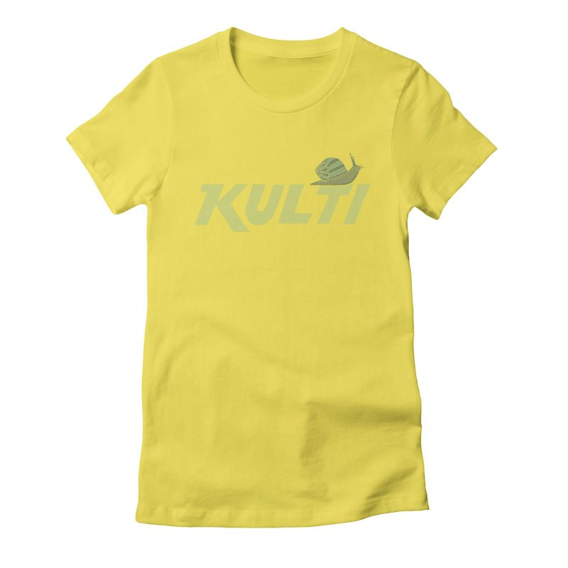 Kulti - Design 3 Women's Fitted T-Shirt by M A R I A N A    Z A P A T A