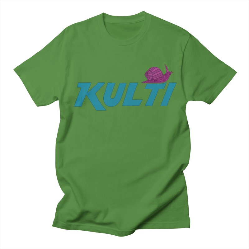 Kulti - Design 4 Men's Regular T-Shirt by M A R I A N A    Z A P A T A