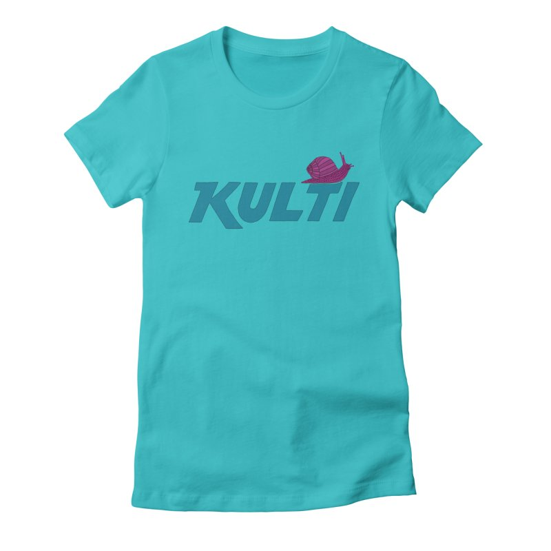 Kulti - Design 4 Women's Fitted T-Shirt by M A R I A N A    Z A P A T A