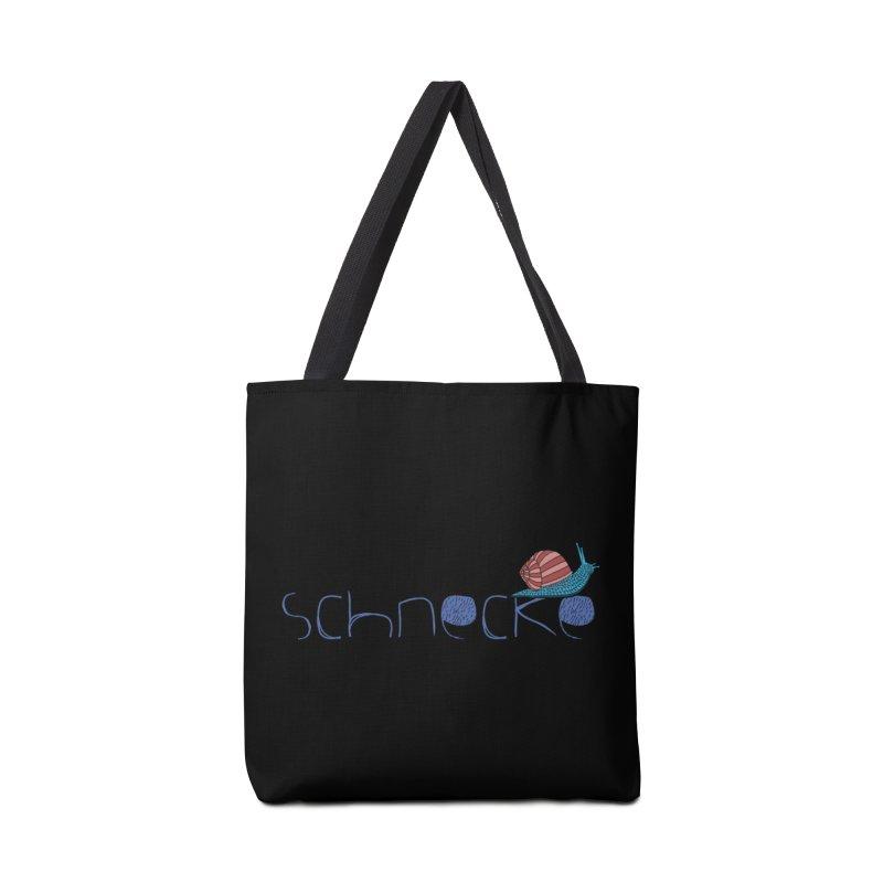 Kulti • Schnecke Design • 1 Accessories Tote Bag Bag by M A R I A N A    Z A P A T A