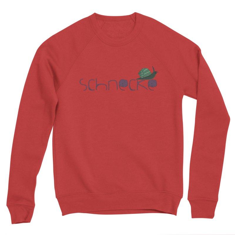 Kulti - Schnecke Design 2 Men's Sponge Fleece Sweatshirt by M A R I A N A    Z A P A T A